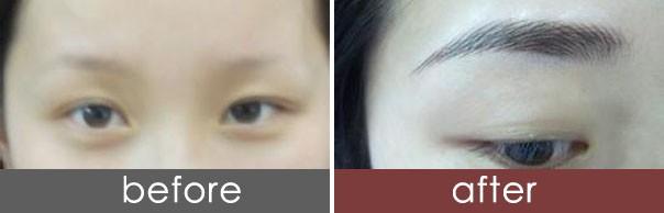 西安纹绣韩式半永久纹眉